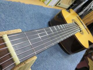クラシックギター、ネックアイロン修正、リペア、修理