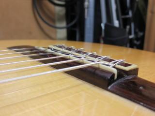 クラシックギター、リペア、修理、弦高調整