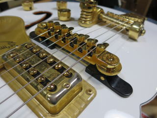 Gretsch 、ギターリペア、修理、シンクロソニック・ブリッジ