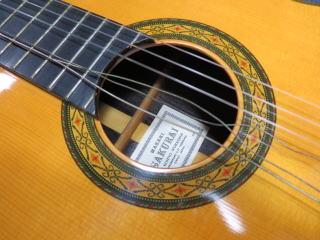 クラシックギター、リペア、修理、桜井正毅 No.10