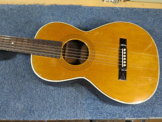 Washburn Parlor Guitar、リペア、修理
