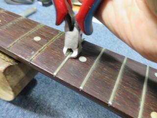 Gibson L-00、リペア、修理、フレット交換