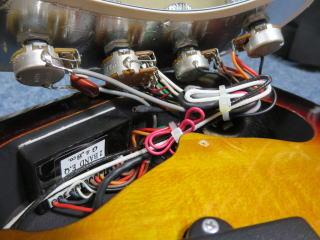 Schecter Stiletto Vintage-5、ベースリペア、修理、メンテナンス