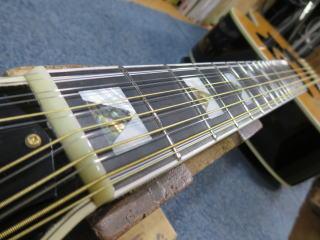 12弦ギター、ナット交換