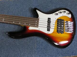 Schecter Stiletto Vintage-5、ベースリペア、修理