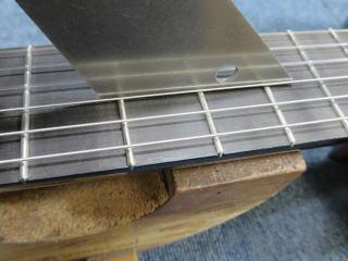 クラシックギター、リペア、修理、フレットすり合わせ