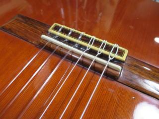 クラシックギター、弦高交換、修理、リペア