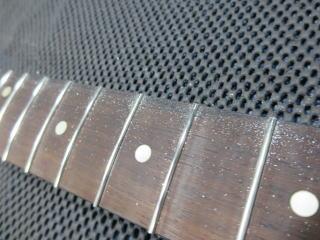 Stratocaster、フレット交換