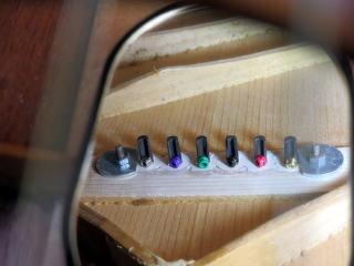 Gibson 、ブリッジプレート、リペア、修理