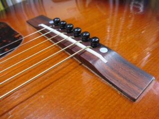 Gibson LG-2、ブリッジ、リペア、修理