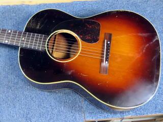Gibson LG-2、リペア、修理