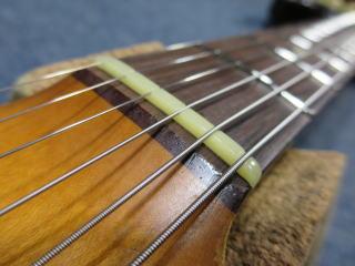 Stratocaster、ナット、リペア、修理
