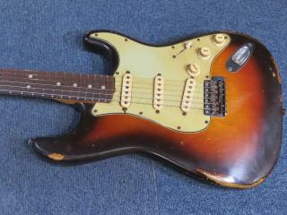 Stratocaster、ナット、フレット、リペア、修理