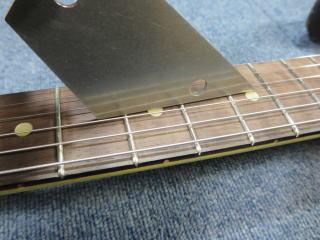 Stratocaster、フレットすり合わせ