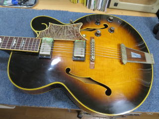 Gibson Tal Farlow、リペア、修理