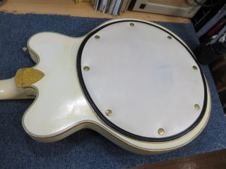 1973 Gretsch White Falcon、リペア、修理