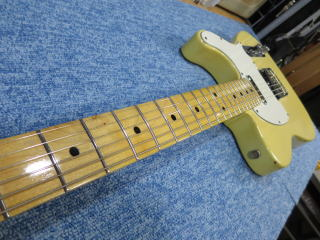 Fender Telecaster、修理、リペア、メンテナンス