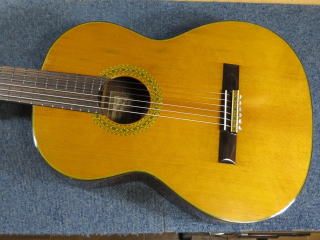 クラシックギター、フレット交換、ナット交換、リペア、修理