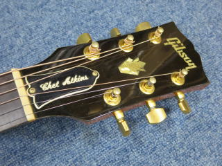 Gibson Chet Atkins SST、NINTH、ナインス、メンテナンス、杉並、高円寺、ネック