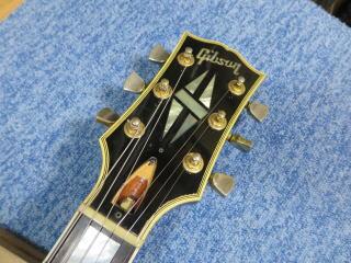Gibson Les Paul Custom、ネック折れ、修理、リペア