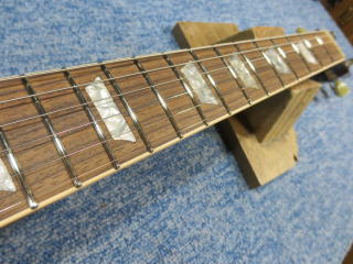 Gibson Les Paul、フレットサイド、球体、すり合わせ、リペア、修理