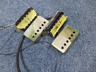 Gibson、リペア、修理、ピックアップカバー交換