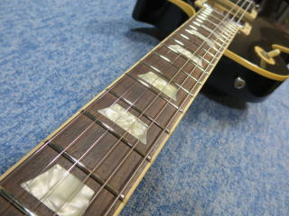 Gibson Les Paul、フレットすり合わせ、ナインス、修理、リペア
