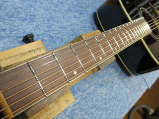 James JD350、リペア、修理、ナインス、NINTH、弦高調整