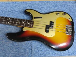 Fender Precision Bass、ナインス、NINTH、リペア、修理、メンテナンス