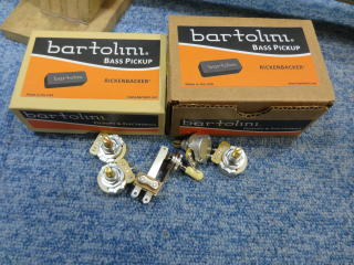Rickenbacker 4001、リペア、修理、ナインス、NINTH、バルトリーニピックアップ