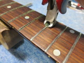 Gibson LG-2、修理、ナインス、50年代、ヴィンテージ、リペア、ギブソン、リフレット