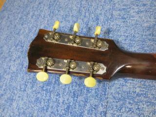 Gibson LG-2、修理、ナインス、50年代、ヴィンテージ、リペア、ギブソン、ペグ