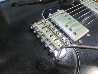 Fender Telecaster Thinline、リペア、修理、メンテナンス、杉並、高円寺、ナインス