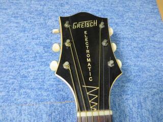 Gretsch 6183、リペア、修理、ネック、杉並