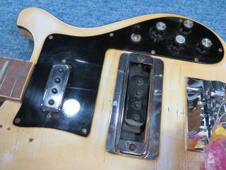 Rickenbacker 4001、リペア、修理、ナインス、NINTH、ピックアップ