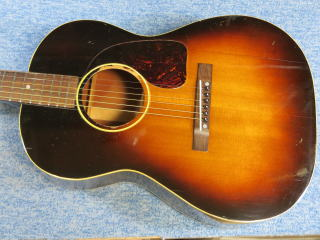Gibson LG-2、リペア、杉並、高円寺、修理、メンテナンス