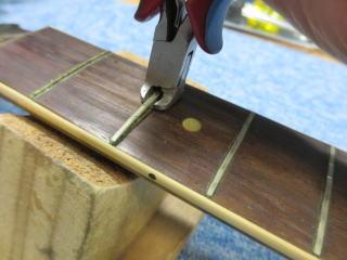 Gibson Les Paul Special 、ナインス、NINTH、杉並、リペア,修理、レスポールスペシャル、フレット