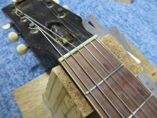 Gibson Les Paul Special 、ナインス、NINTH、杉並、リペア,修理、レスポールスペシャル、リナット