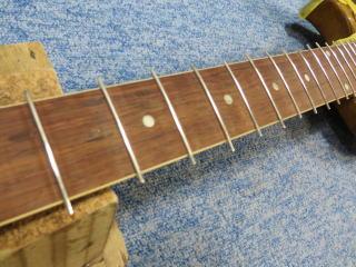 Gibson Les Paul Special 、ナインス、NINTH、杉並、リペア,修理、レスポールスペシャル、フレット交換