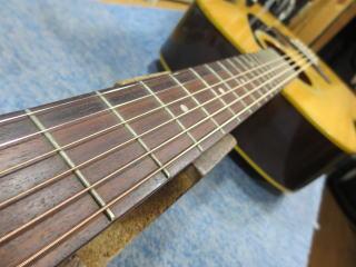 アコーステックギター、メンテナンス、ナインス、杉並、NINTH、リペア、修理、ネック