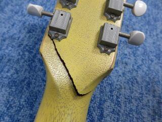 Gibson Les Paul Junior Special、ネック折れ、杉並、ナインス、NINTH、リペア