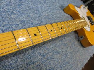 Fender Telecaster Thinline、杉並、ナインス、NINTH、リペア、ナット、メンテナンス、フレットすり合わせ