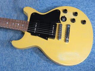 Gibson Les Paul Junior Special、ネック折れ、杉並、ナインス、NINTH、リペア、ギブソン、メンテナンス