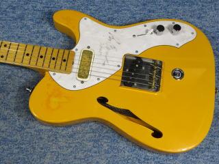 Fender Telecaster Thinline、杉並、ナインス、NINTH、リペア、ナット、メンテナンス、テレキャスター