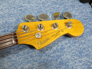 Fender Jazz Bass、ナインス、配線修理、リペア、メンテナンス