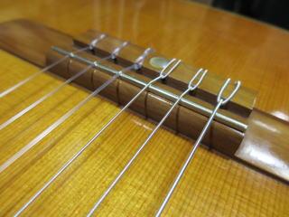 Yamaha Dynamic Guitar No.S50、リペア、修理、ナインス、NINTH、杉並、サドル