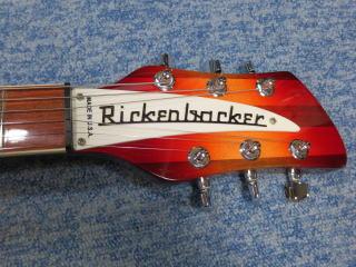Rickenbacker 360、杉並、リペア、修理、ナインス、リッケンバッカー、ネックアイロン