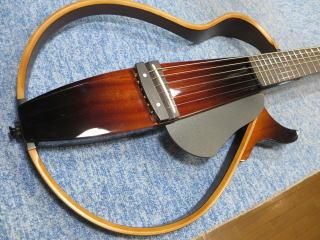 YAMAHA SLG200、ナインス、NINTH、杉並、リペア、修理、メンテナンス、サイレントギター