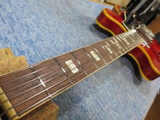 Gibson ES-330、リペア、ナインス、杉並、メンテナンス、修理、バインディング
