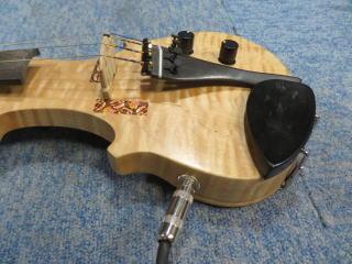 エレキバイオリン、配線、リペア、修理、ピックアップ、ジャック